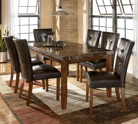 dining rooms outlet 7 rectangular dining set by dining rooms outlet
