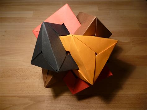 interlocking origami interlocking paper shapes crafts