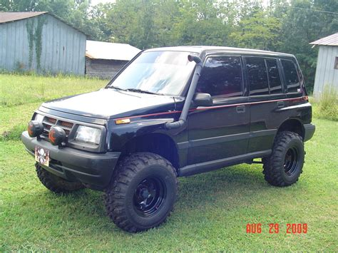 Lifted Suzuki Sidekick by Suzuki Sidekick 4x4 Lifted Www Pixshark Images