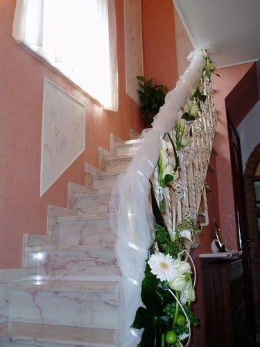 decoration re d escalier pour mariage