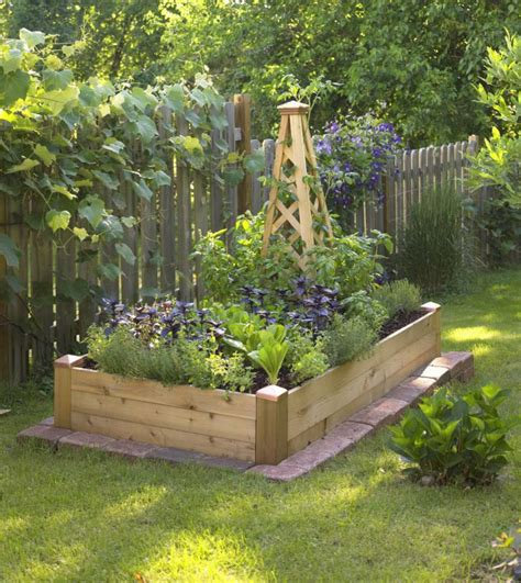 how to make a small vegetable garden small space gardening build a tiny raised bed midwest