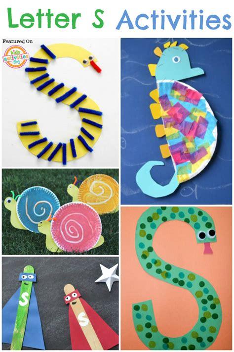 activities for 18 letter s activities
