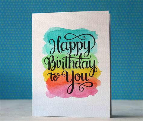 how do you make a birthday card happy birthday card via happy project tarjeter 237 a