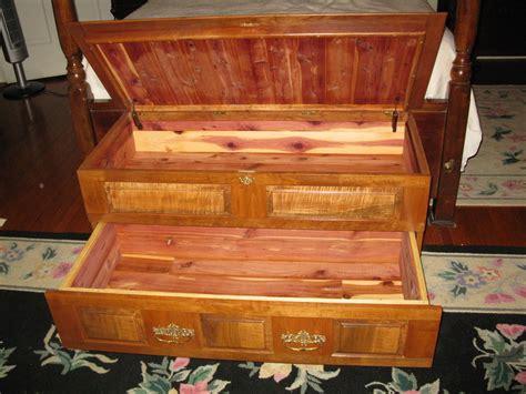cedar woodworking projects cedar lined chest by roz lumberjocks