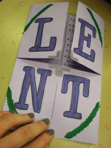 lenten crafts for 25 best ideas about 40 days of lent on lent