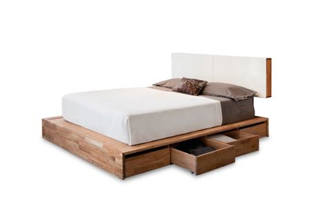 solid platform bed frame solid wood platform bed frame design selections homesfeed