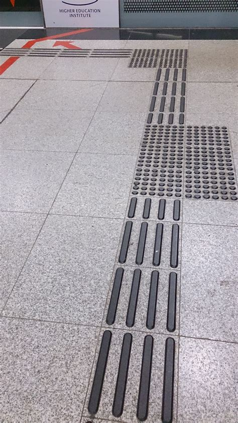 rubber st singapore file tactile paving in a mass rapid transit station in