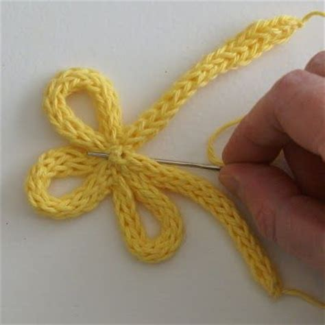loom knitting for dummies how to make a spoolknitted flower crochet