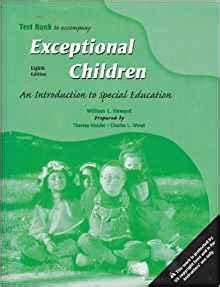 exceptional children an introduction to special education 10th edition test bank to accompany exceptional children an