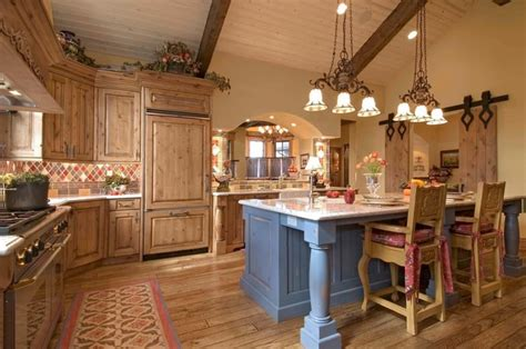 style kitchen lighting country styled kitchen special aspects of decoration