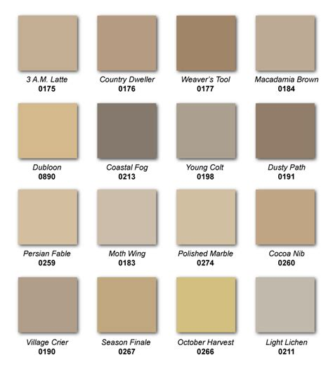list of neutral colors top selling hirshfield s paint colors hirshfield s color