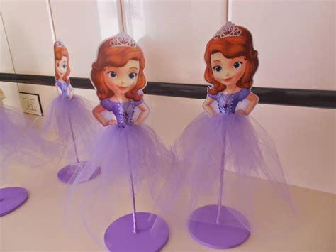 de la princesa sof a princesa sofia centro de mesa ana estevan
