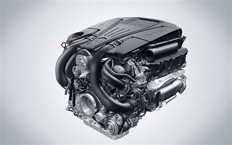 Motor Mercedes by New Mercedes Direct Injection V8 Engine Eurocar News
