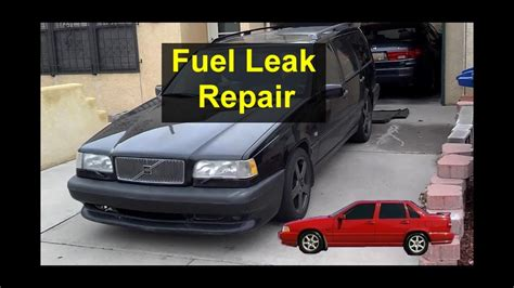 how petrol cars work 1995 volvo 850 spare parts catalogs fuel leak when filling up at the gas station vent hose replacement volvo 850 etc votd