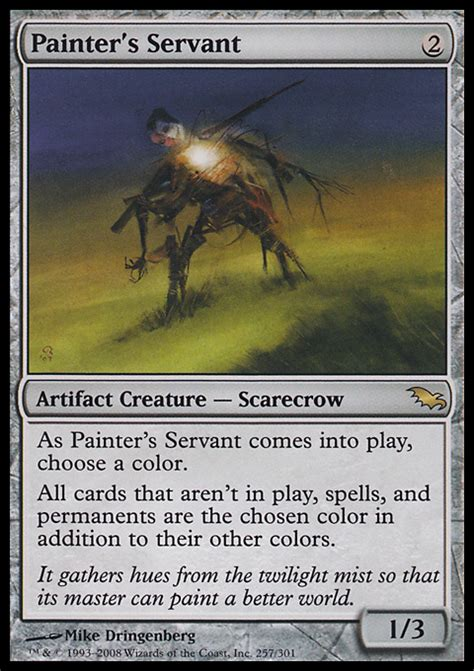 Mtg Best Modern Deck by Painter S Servant 9 13 Price History From Major Stores