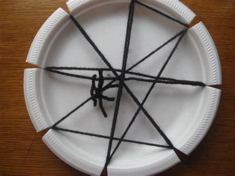 paper plate spider craft preschool crafts for paper plate spider