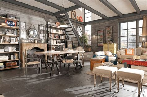 Chic Home Design Llc New York arredamento country vintage industrial loft urban