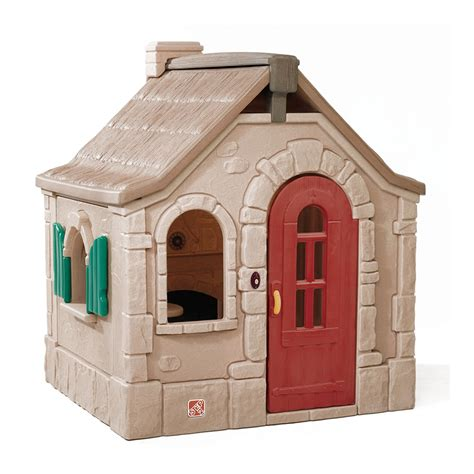 step 2 playhouse storybook cottage naturally playful 174 storybook cottage playhouse step2