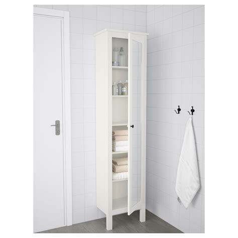 mirror cabinet door hemnes high cabinet with mirror door white 49x31x200 cm ikea