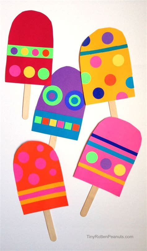 easy kid crafts 25 best ideas about preschool summer crafts on