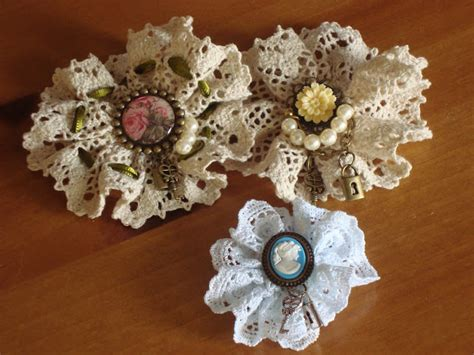 how to make vintage jewelry vintage lace brooches favecrafts