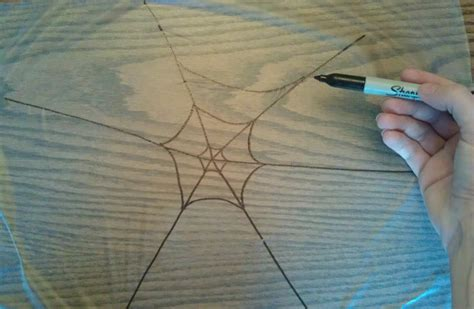how to make a spider web craft for glitter spider web craft step 1 woo jr activities