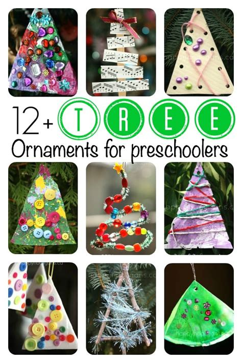 preschool tree crafts tree ornaments for toddlers and preschoolers to make
