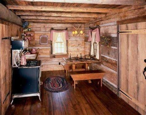 rustic cottage decor small cabin kitchen cabins style cabin