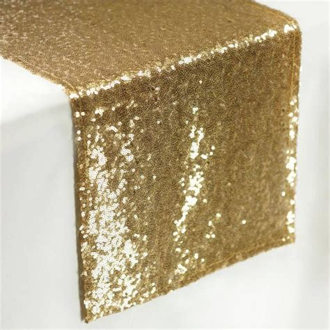 gold organza table runner gold sequin table runners table top wedding catering