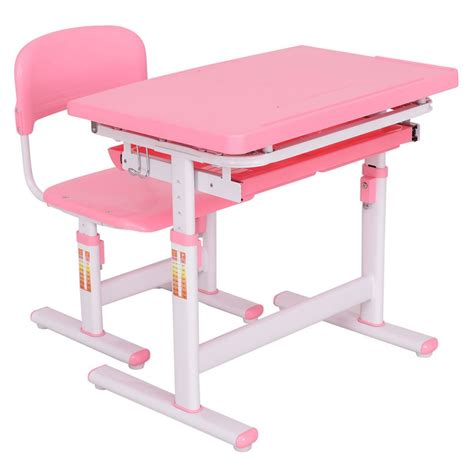 Desk And Chair Sets by Height Adjustable Children Desk Chair Set Ba Toddler With
