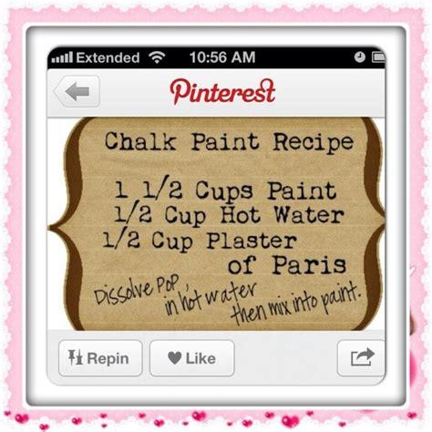 chalk paint recipe 27 best images about chalk paint on