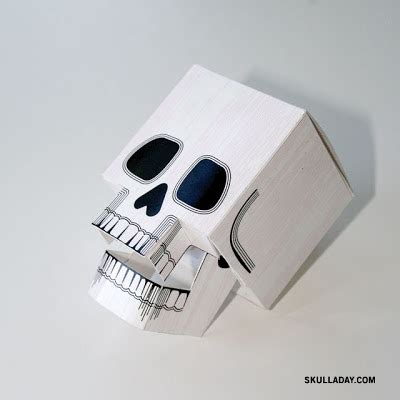 paper craft skull 72 papercraft skull with articulated jaw
