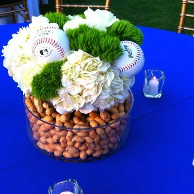 baseball centerpieces for tables 17 best ideas about baseball centerpiece on