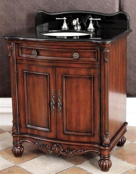 sink bathroom vanities with granite top 32 inch single sink bathroom vanity with black granite top