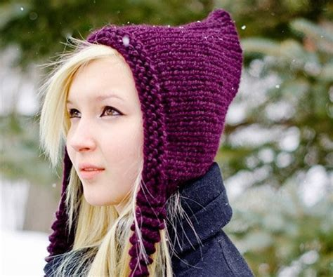 pixie hat knitting pattern free knitting pattern knit hat knitting from pixiebell on etsy