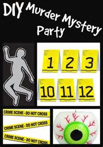Home Made Halloween Decorations 7 ways to host a killer murder mystery party party ideas