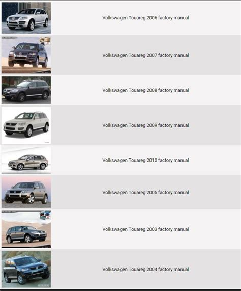 best car repair manuals 2010 volkswagen touareg spare parts catalogs service manual service and repair manuals 2008 volkswagen touareg seat position control