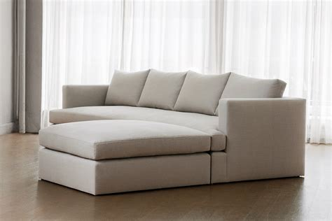 ottoman sectional chelsea square sofa with ottoman transitional mid