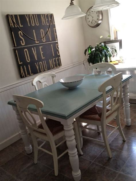 chalk paint ideas for tables best 20 painted kitchen tables ideas on