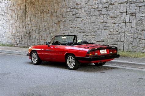 Alfa Romeo Graduate For Sale by 1987 Alfa Romeo Spider Graduate For Sale 91422 Mcg
