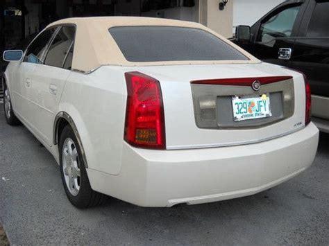 2000 Cadillac Cts by Buy Used 2000 Cadillac Cts Auto 3 2 V6 No Res