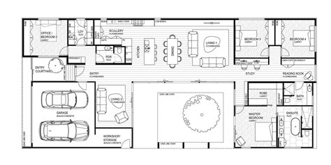 floor plans with courtyard courtyard house floor plans