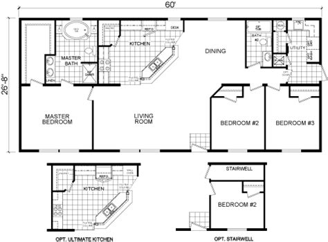 redman homes floor plans our homes redman homes manufactured and modular homes