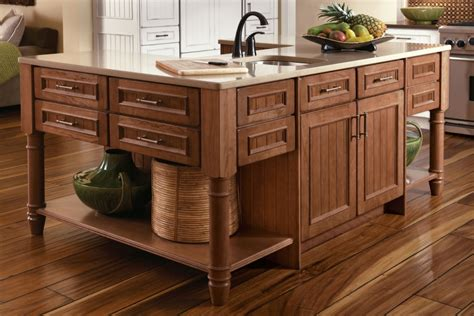 Building A Kitchen Island With Seating 5 benefits of kitchen islands kraftmaid