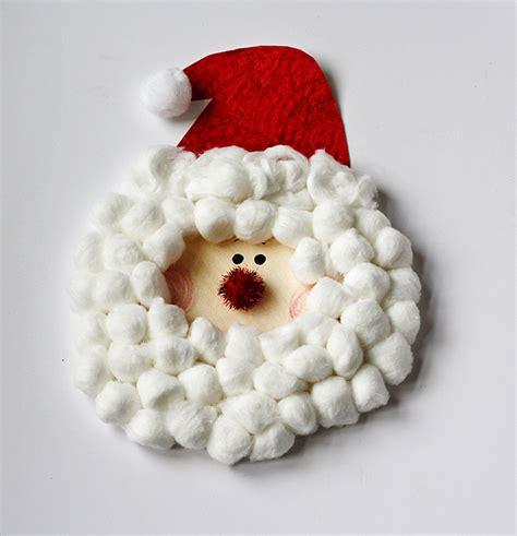 santa paper crafts paper plate characters santa rudolph snowman