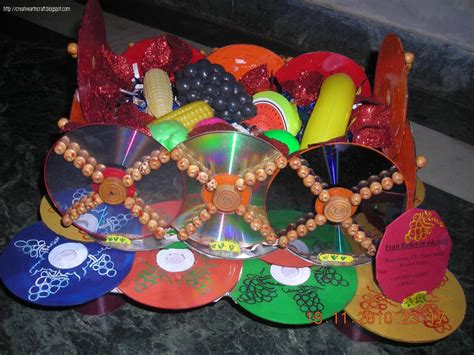 waste out of best for craft crafts work with waste materials