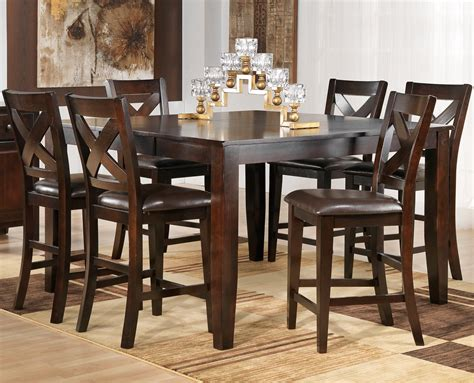 pub style dining room tables dining room pub style dining set with square table made