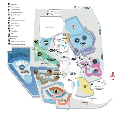 aquarium floor plan aquarium map