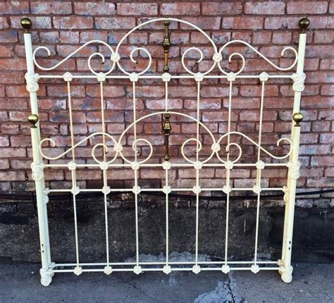 rod iron bed frame antique antique wrought iron mountain bed frame 58