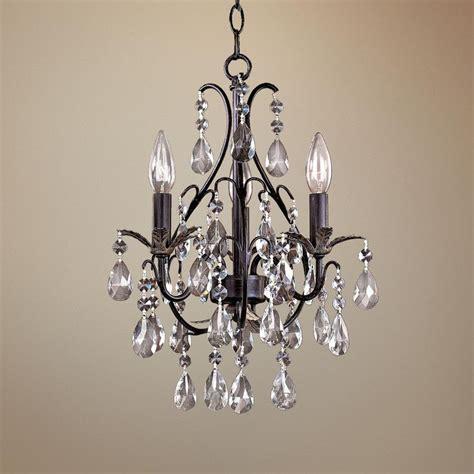 bathroom mini chandeliers castlewood walnut silver finish 3 light mini chandelier